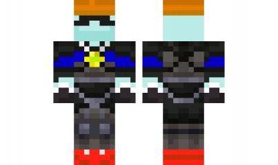 Minecraft Skin TandomRobot Minecraft Skins Pinterest - Skin para minecraft de oculos