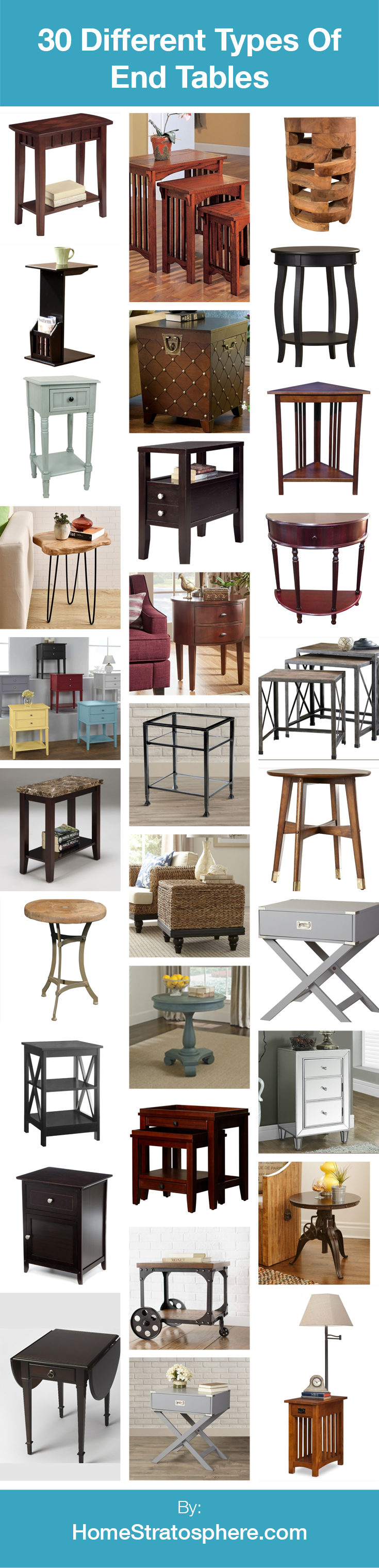 Room · 30 Different Types Of End Tables (Buying Guide)