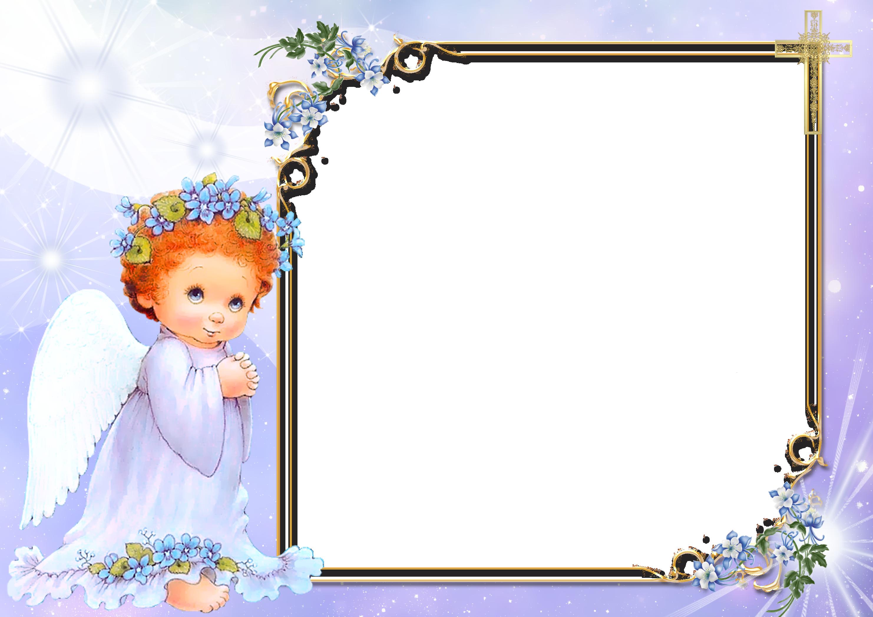 Картинки, шаблон открытки с днем ангела
