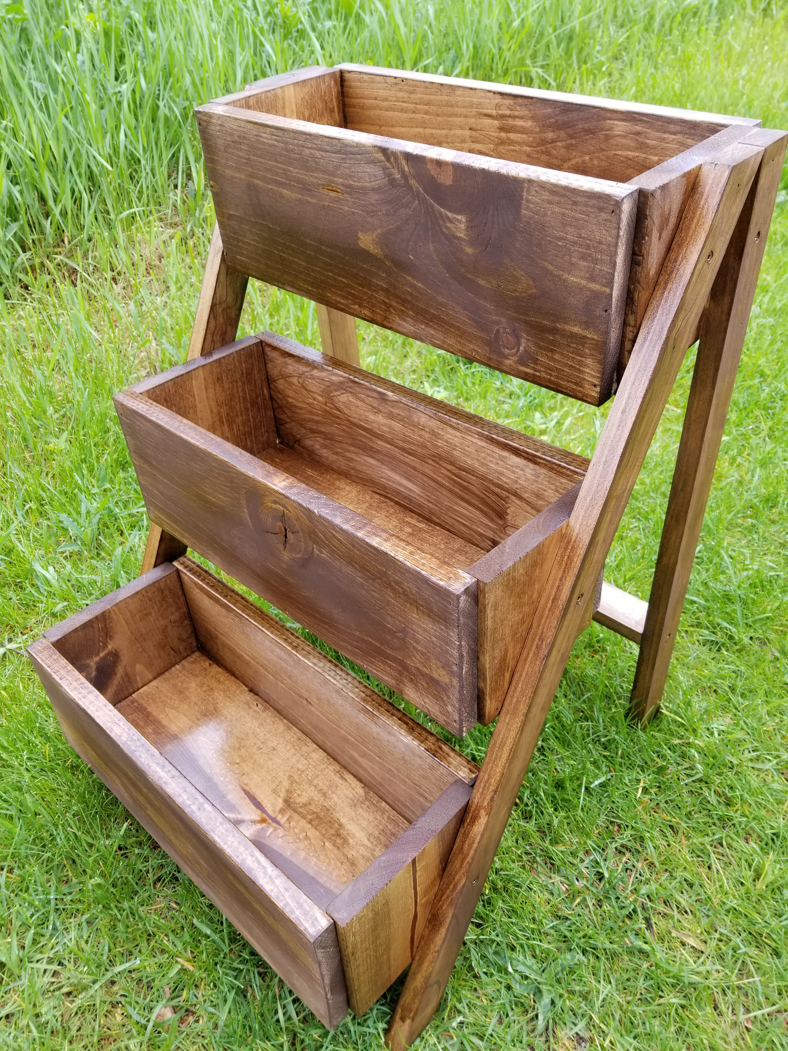 Ana White 3 Tier Planter DIY Projects (With images