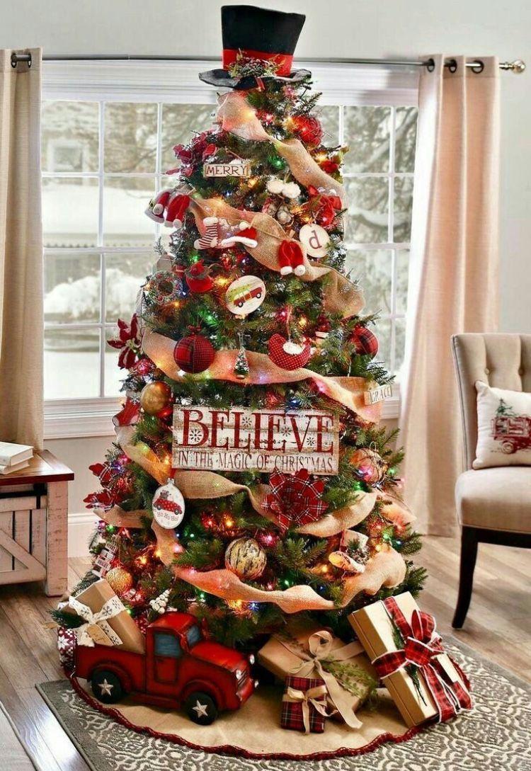 Christmas Home Decoration Christmas Decorations Rustic Tree Cool Christmas Trees Rustic Christmas Tree