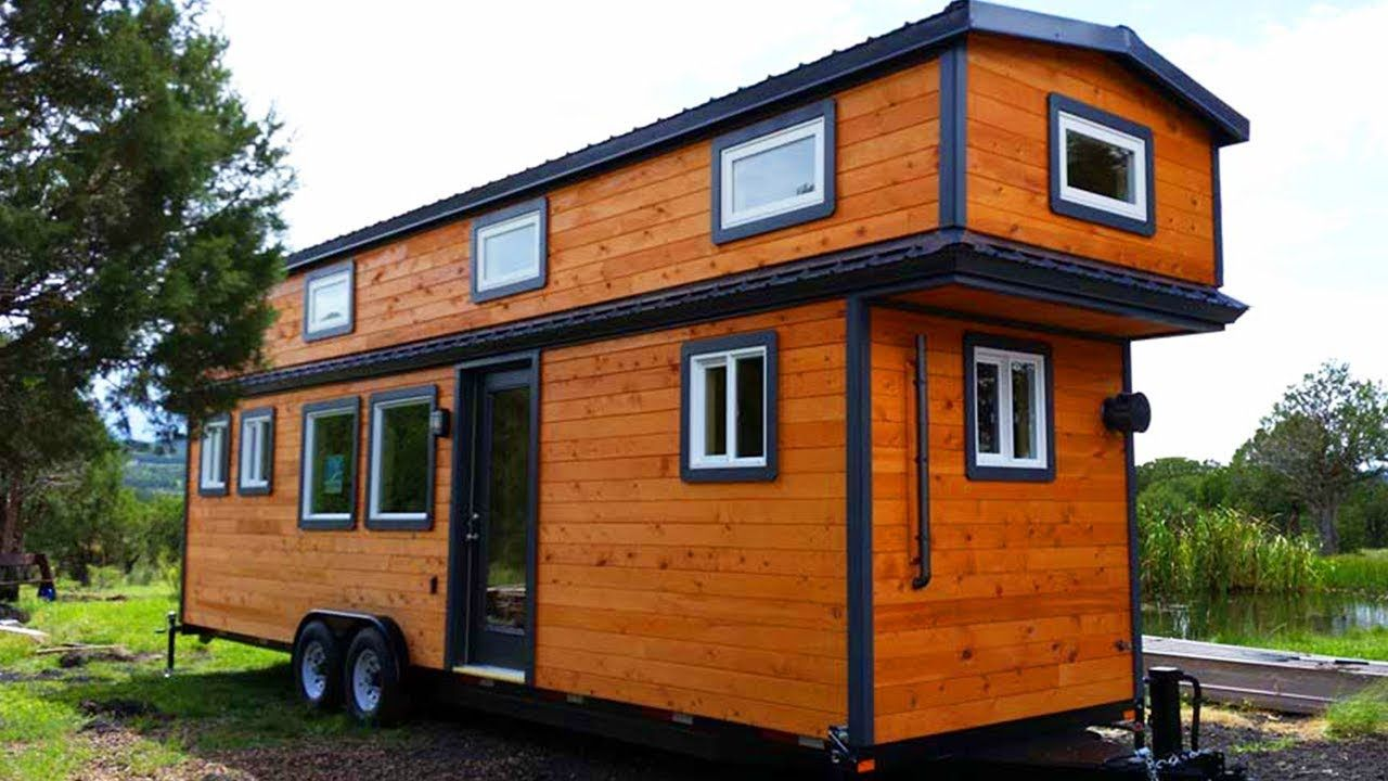 Pin By Nicolai Schulte On Le Tuan Home Design More Tiny Houses Https Goo Gl Zl5ank Tiny House Trailer Tiny House Exterior Tiny House Floor Plans