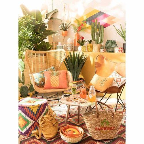 Tapis Imprime Ethnique Multicolore 80x200 Decorations Mexicaines Decor De Patio Decoration Tropicale