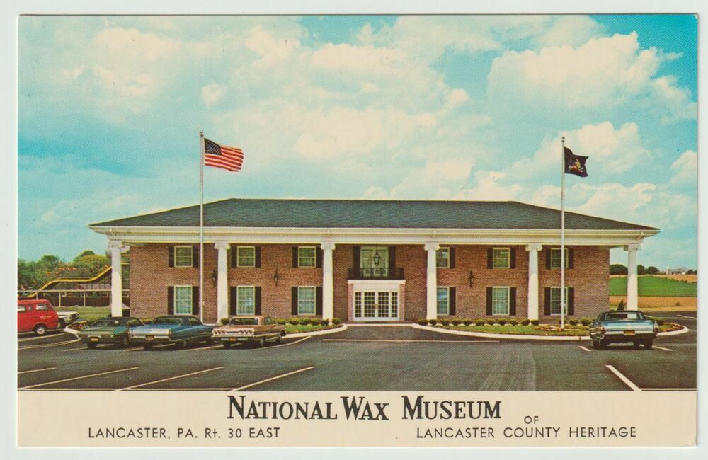Details about Unused Postcard National Wax Museum County