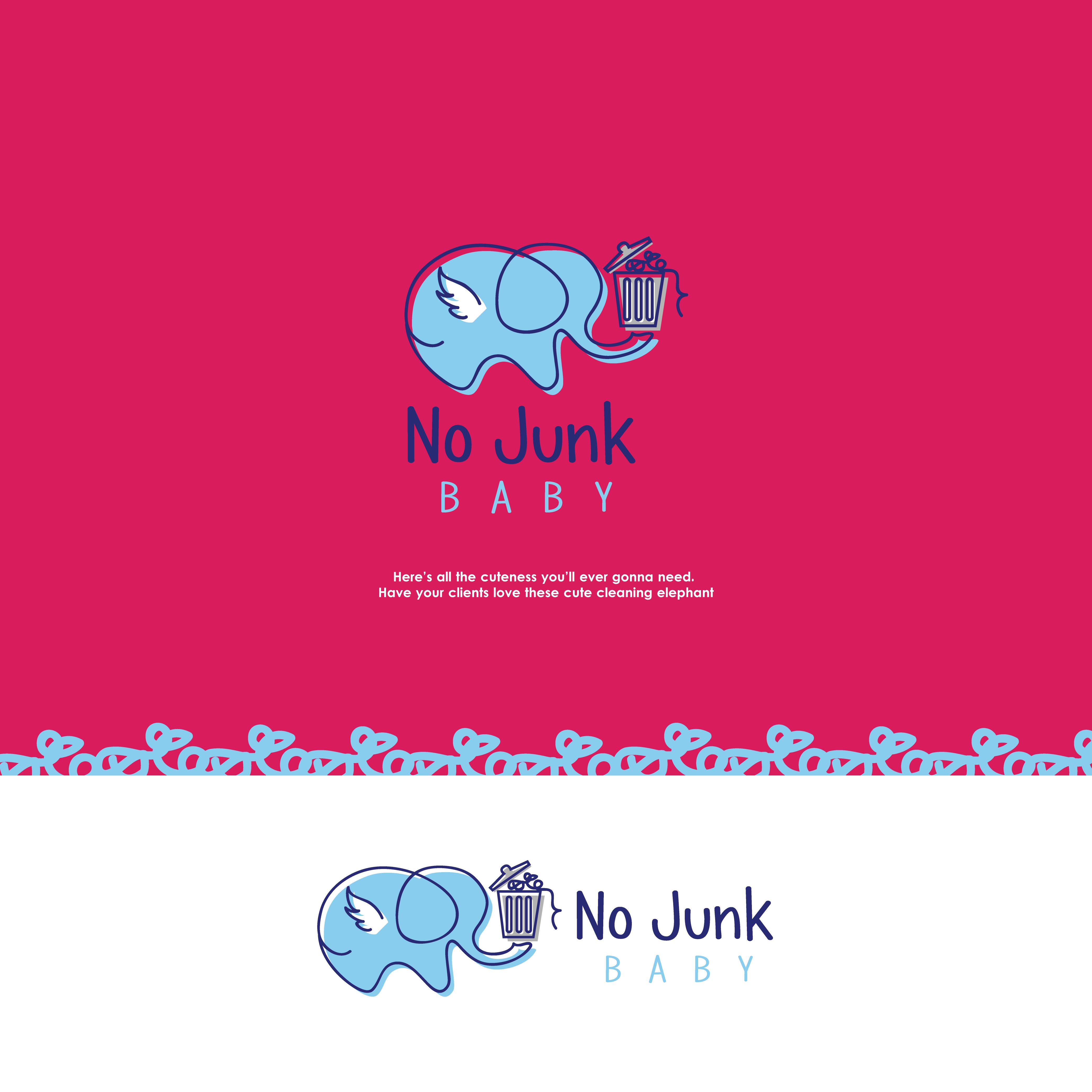 Elephant Logo Cleaning Logo Logo Design Premade Logo Business