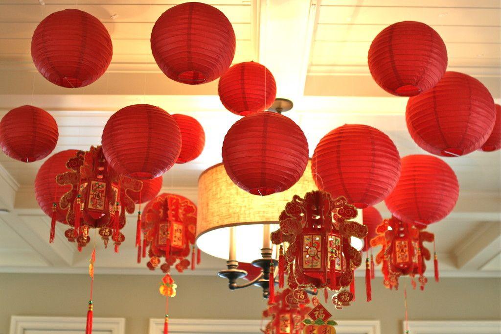 Chinese New Year Baby Shower | Baby shower balloon ...