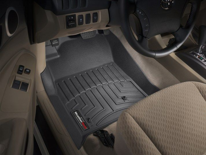 2010 Toyota Tacoma Weathertech Floorliner Custom Fit Car Floor Protection From Mud Water Sand And Salt Toyota Tacoma 2011 Toyota Tacoma 2009 Toyota Tacoma