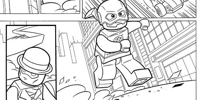 Dessin à colorier: Super Héros DC Comics (Super-héros) #43 ...