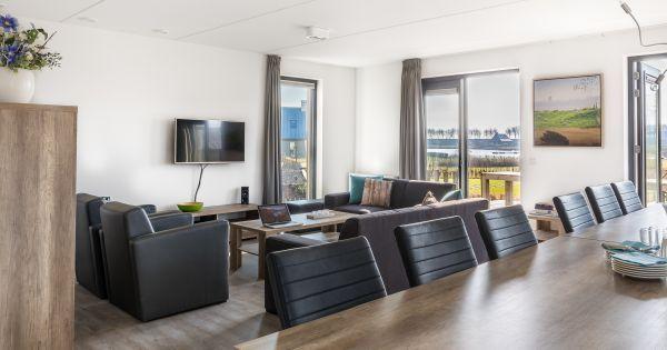 Oesterdam 12 Begane grond: ruime woonkamer met gezellige zithoek met ...