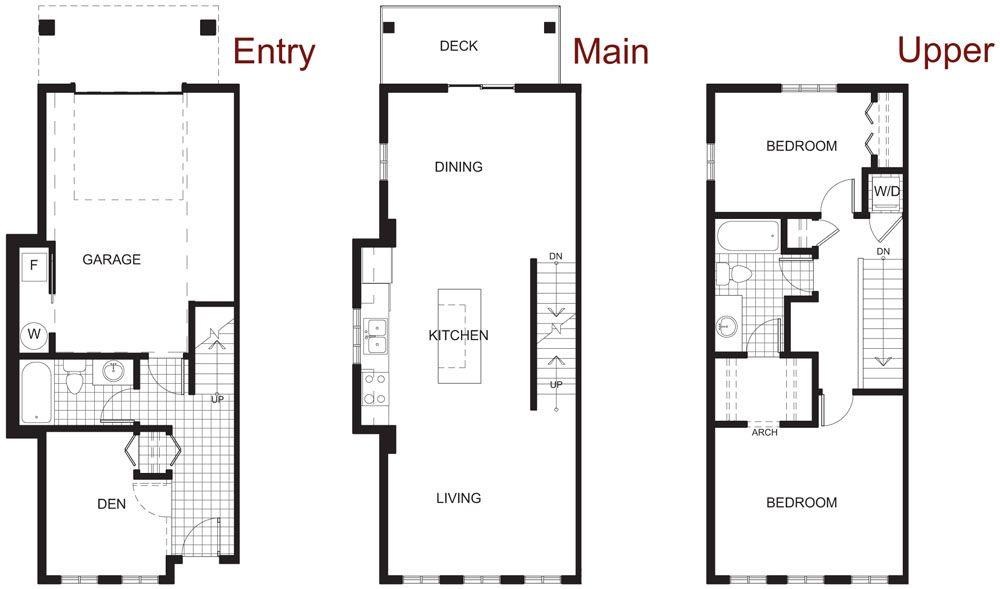 best townhouse floorplan design   Google Search. best townhouse floorplan design   Google Search   Townhouse