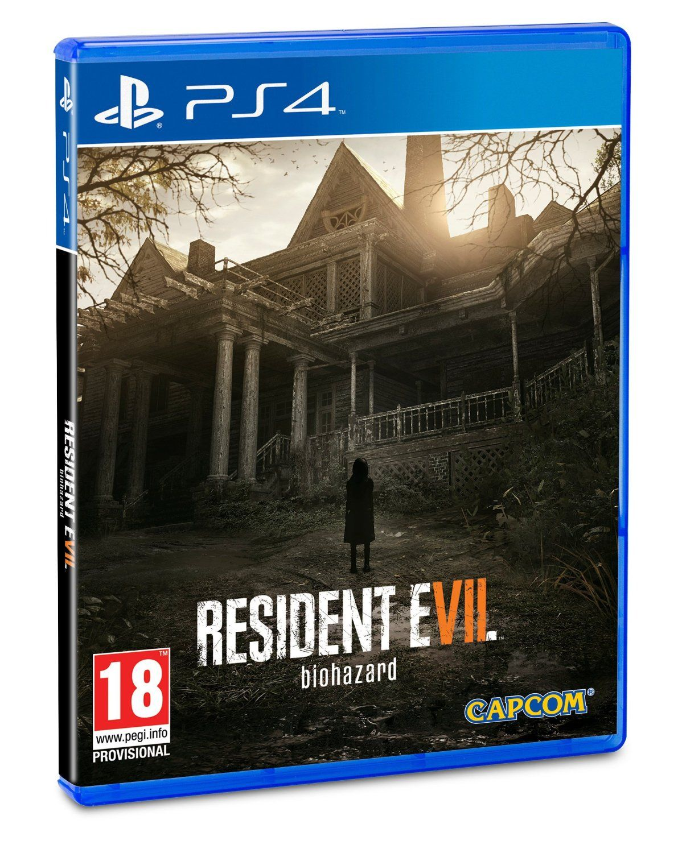 VR ready Ps4 games, Resident evil, Resident evil 7 biohazard
