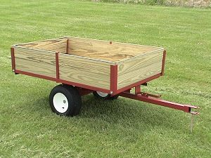 Superior Lawn And Garden Utility Trailers And Carts By Country MFG.