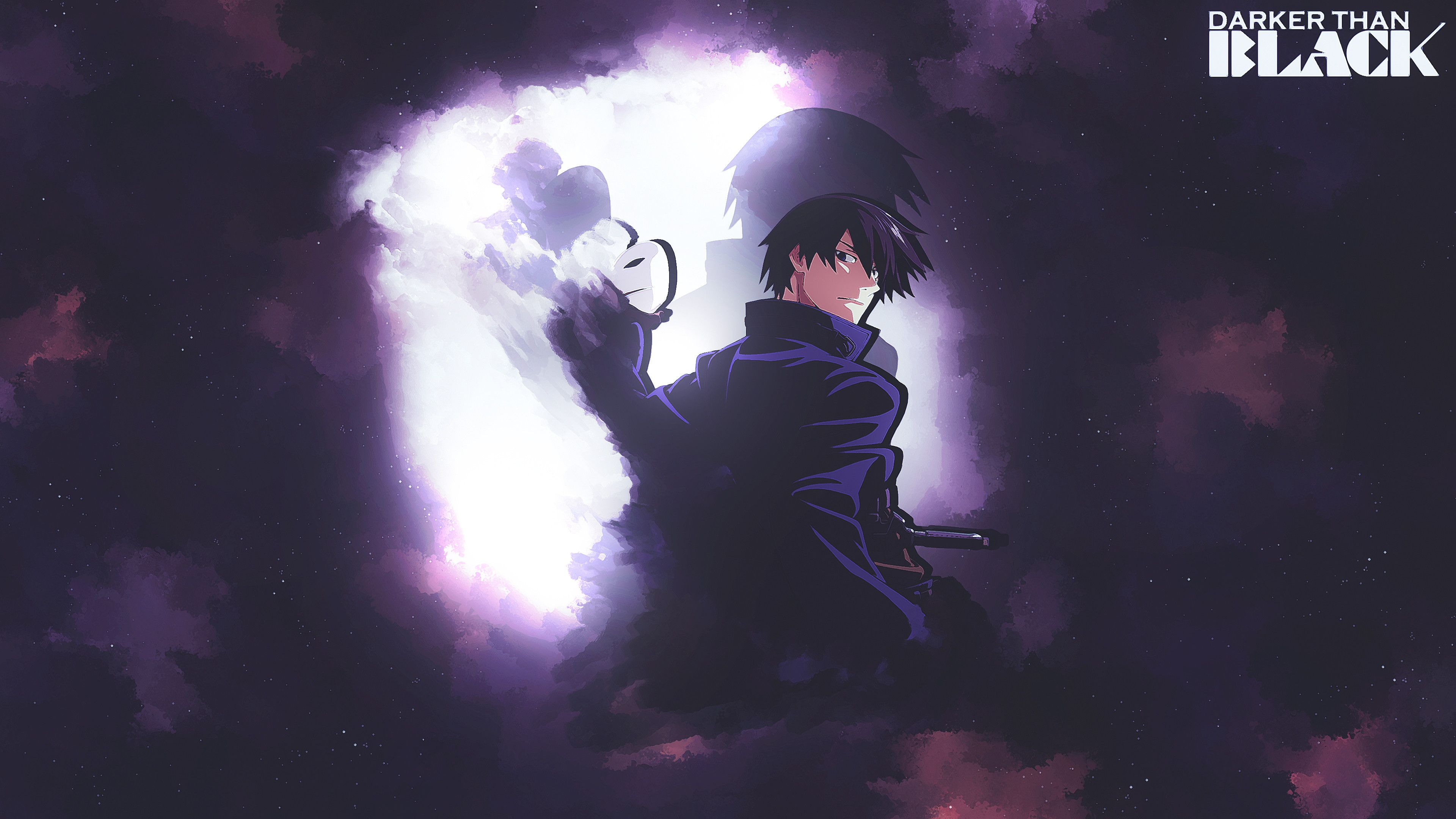 3840x2160 Anime Darker Than Black Hei Darker Than Black Dark