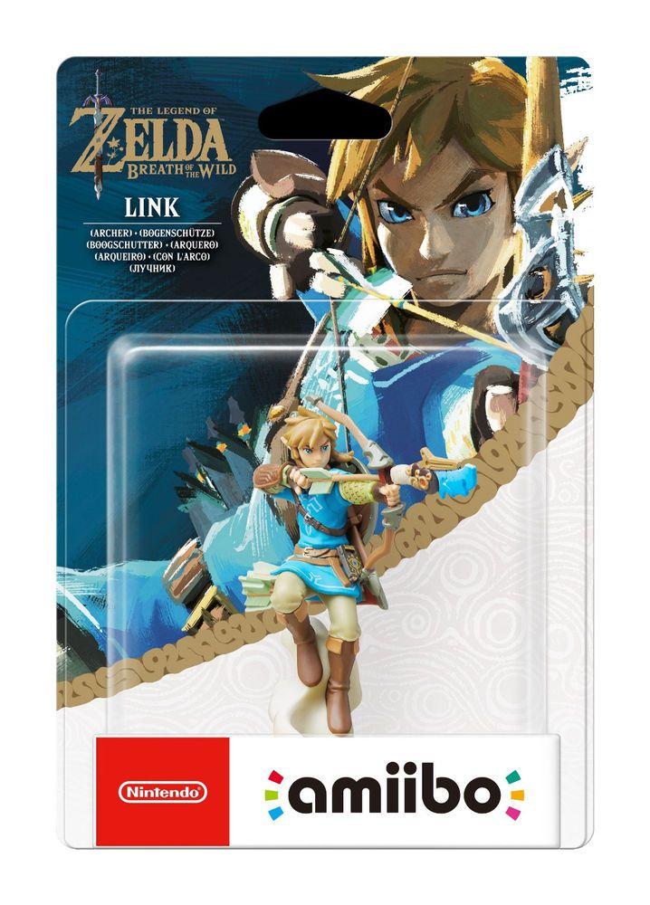 Legend Of Zelda Breath Of The Wild Archer Link Amiibo New Nib