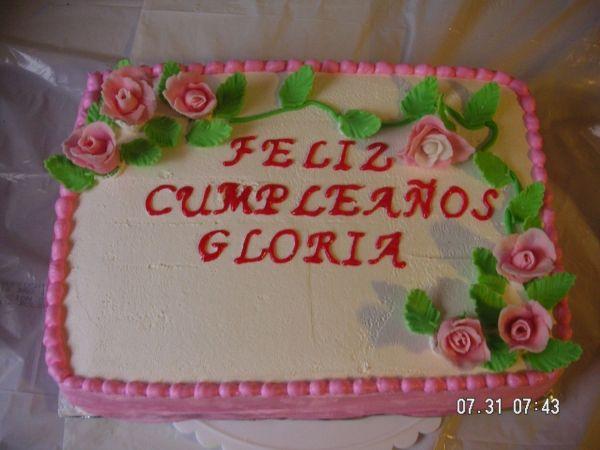 Rose Sheet Cake Cakes Ladies Pinterest Sheet cakes Cakes