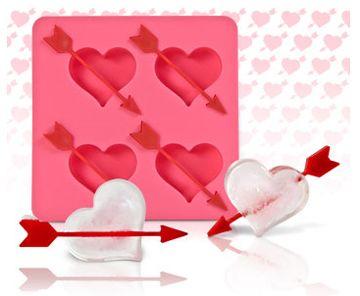 Heart and Arrow Ice Cube Tray