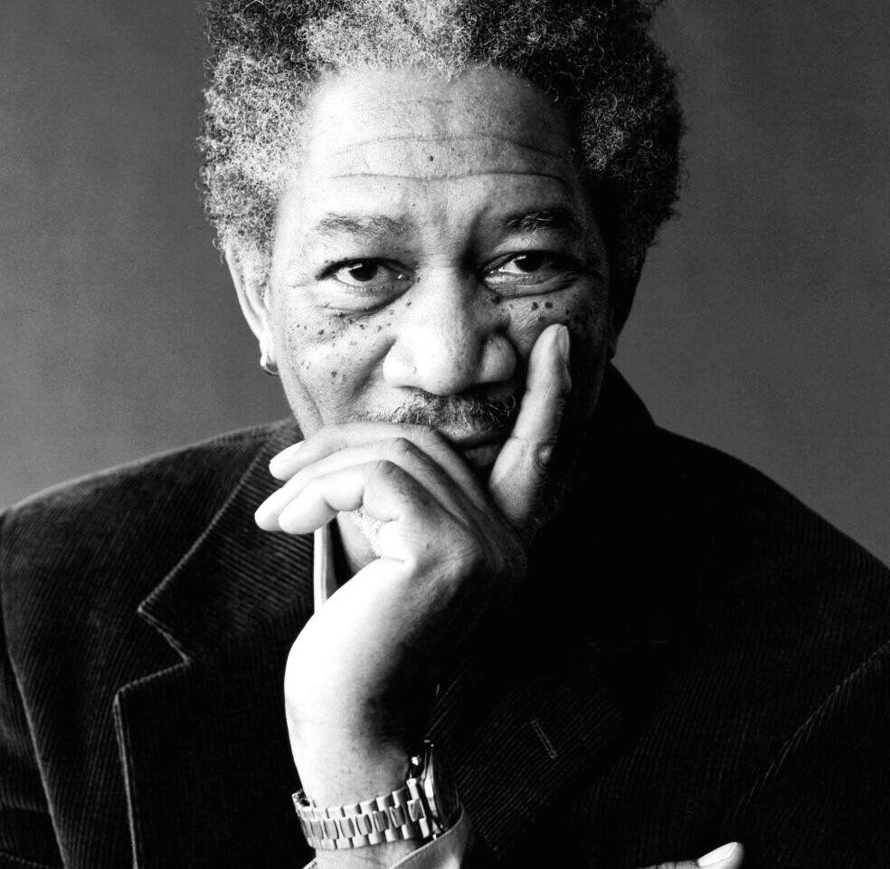 Morgan Freeman Morgan Freeman Cat Portraits