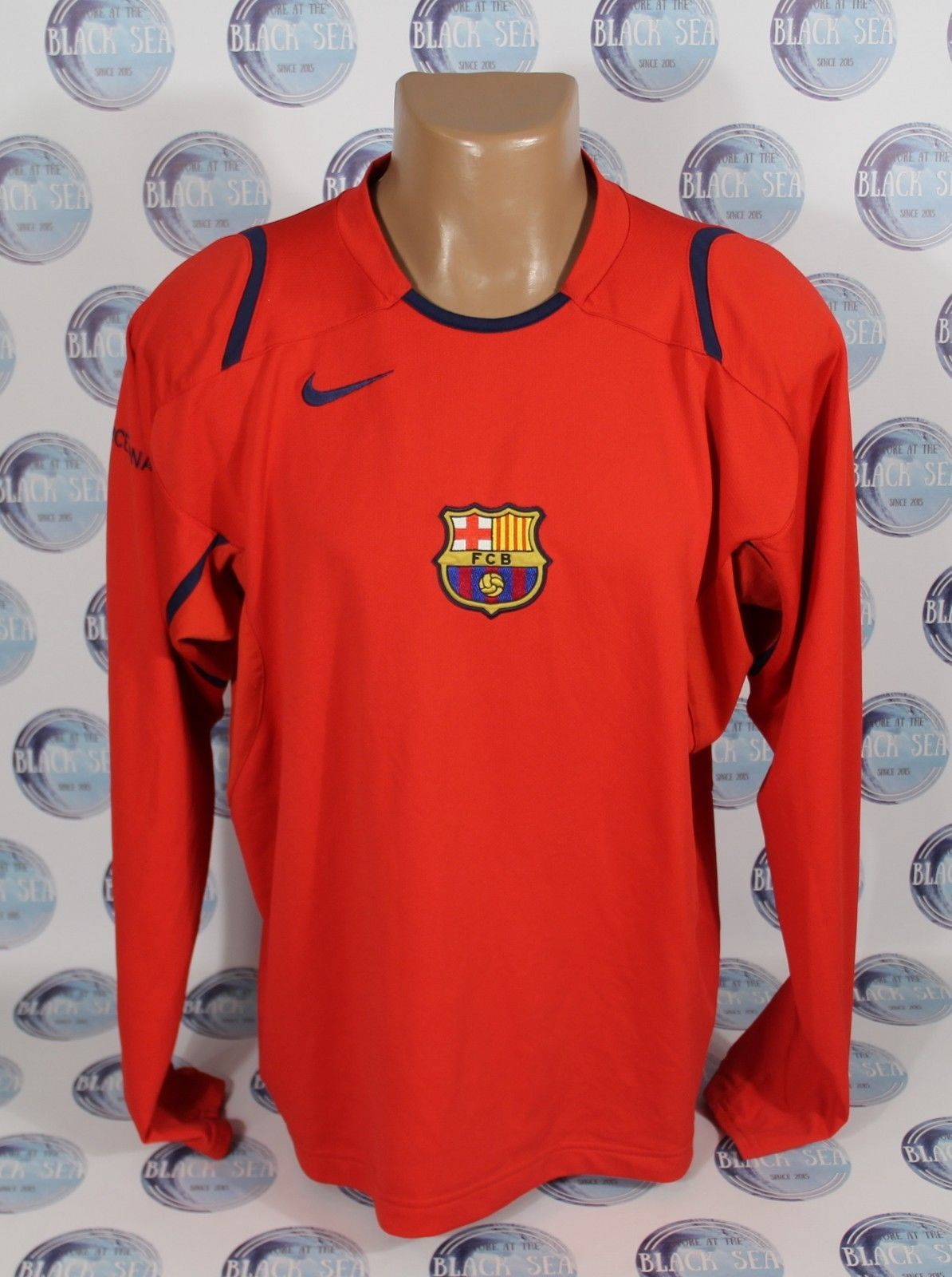 Football Shirts · Barcelona Spain · BARCELONA 2000 S TRAINING FOOTBALL  SOCCER SHIRT JERSEY CAMISETA RED NIKE XL (eBay ... 64120c097