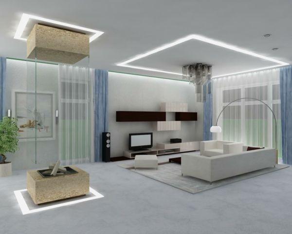 einrichtungsbeispiel für wohnzimmer - Wie ein modernes Wohnzimmer - beleuchtung wohnzimmer ideen