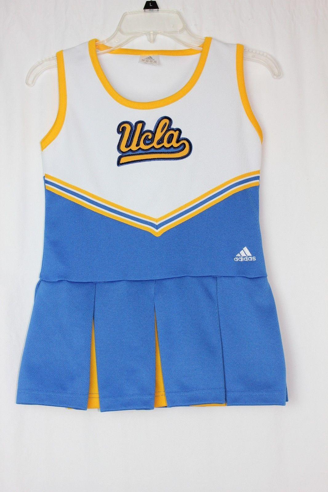 b321cac9ab8 Adidas UCLA Bruins Cheerleader Uniform Costume Dress Youth Medium 10 ...