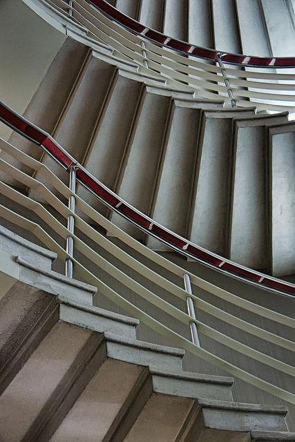 Stairs @ Midland Hotel Morecambe by petrova fossil :), via Flickr