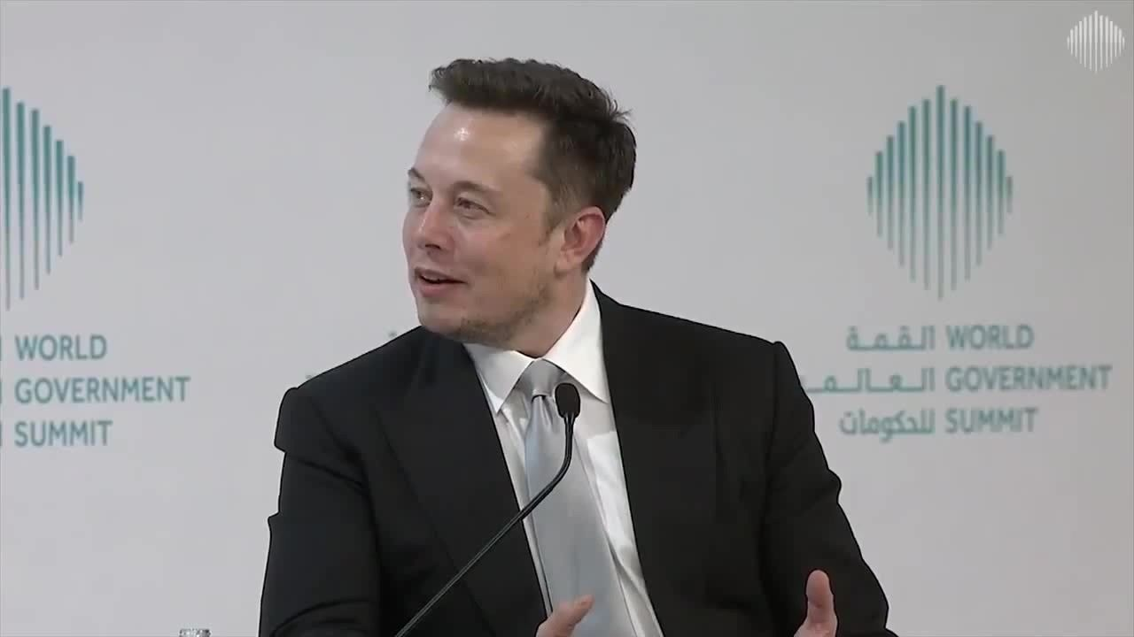 Elon Musk Universal Basic Income Is Going To Be Necessary Elon Musk Elon Musk Interview Elon