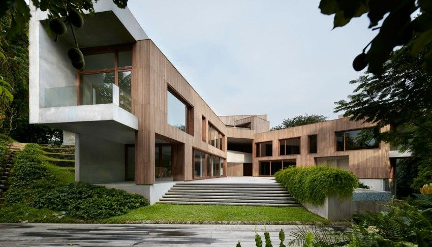 Tsao Mckown Architects Design A Green Home In Singapore Con
