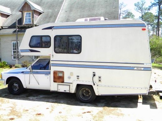 How I Repaired Remodeled And Restored An Old Rv Camper Old Campers Rv Motorhome