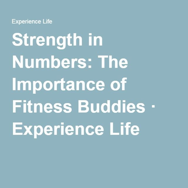 Strength in Numbers The Importance of Fitness Buddies - dr watson i presume