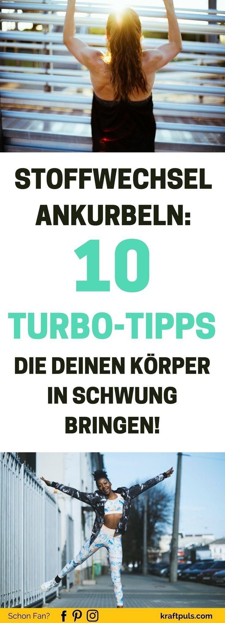 Stoffwechsel ankurbeln: 10 Turbo-Tipps die deinen Körper..