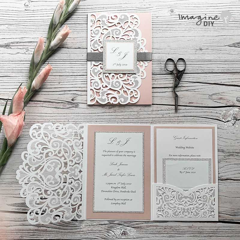 How To Make ….. Laser Cut Pocket Invitations – Imagine DIY