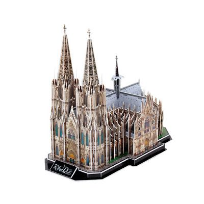 Cathedral Puzzles For Bored Goth Kids 3d Building Models Cologne Cathedral Cathedral