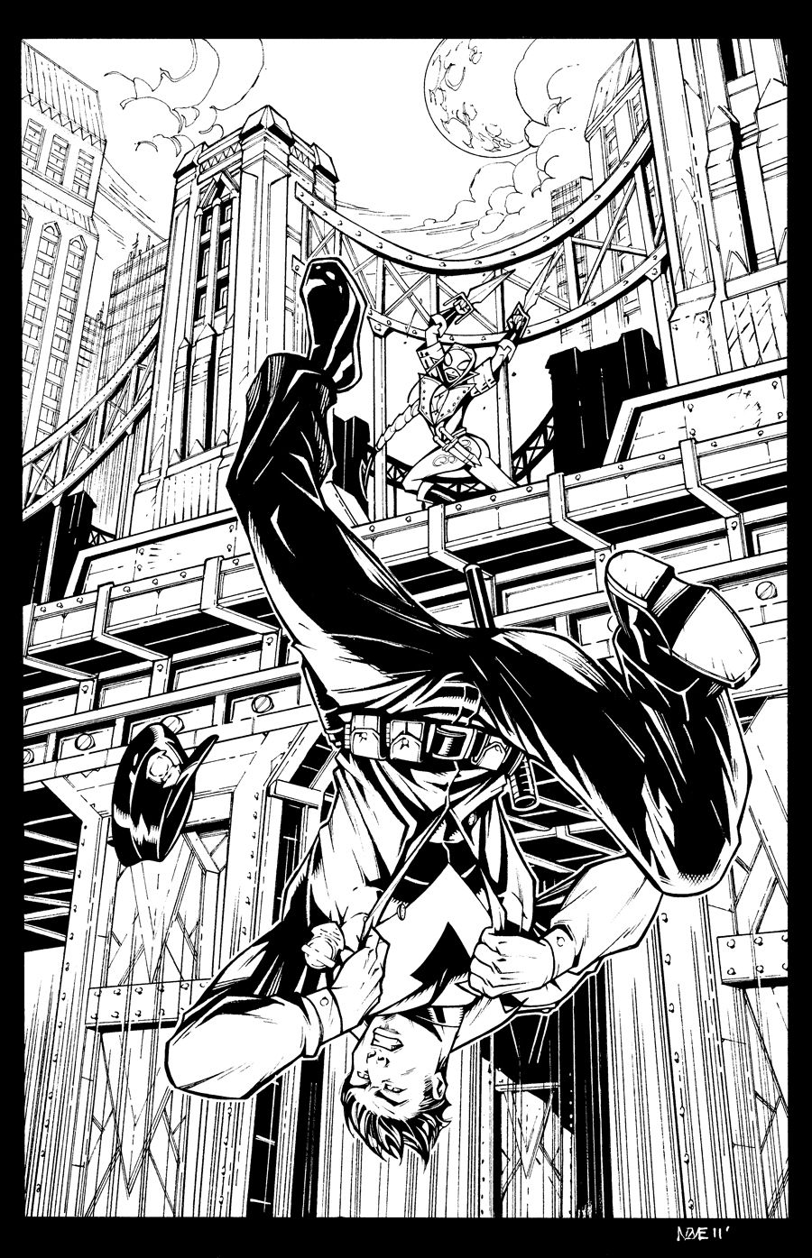 Nightwing by ~olivernome | coloring pages | Pinterest