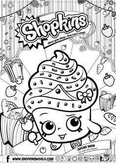 Shopkins Coloring Pages Shopkins Dibujos Shopkins Para Colorear