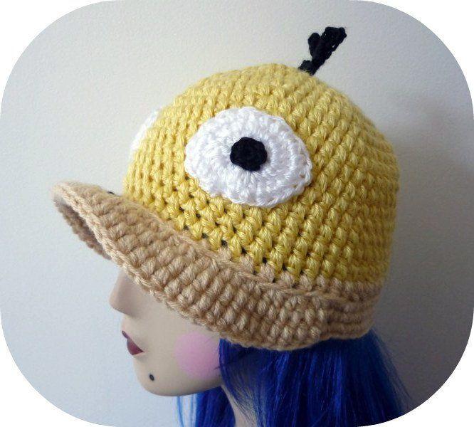 Crochet+Pokemon | crochet pokemon hat | Custom Psyduck Crochet ...