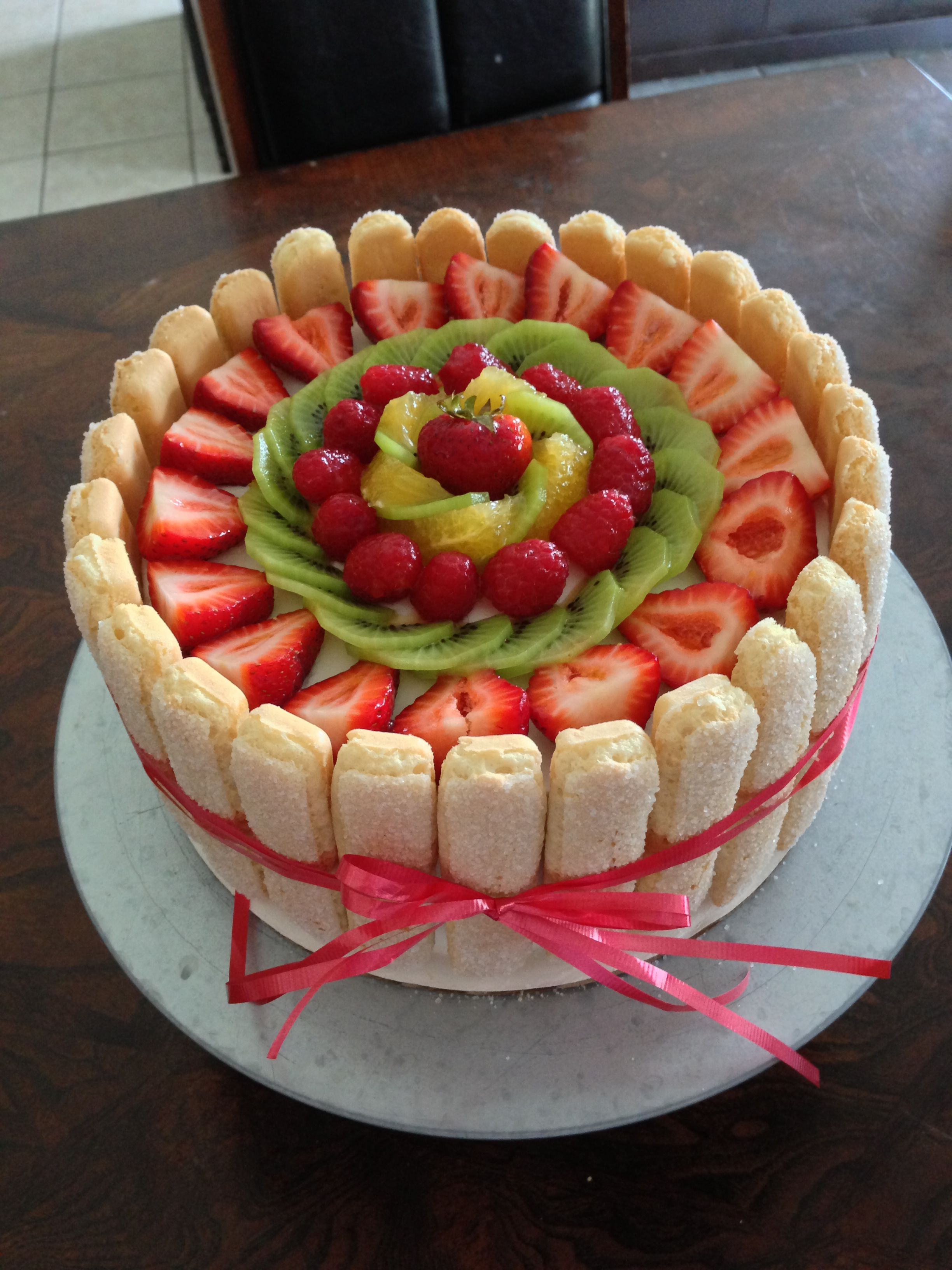 Fruit cake with lady finger Dinh s Cakes in 2018