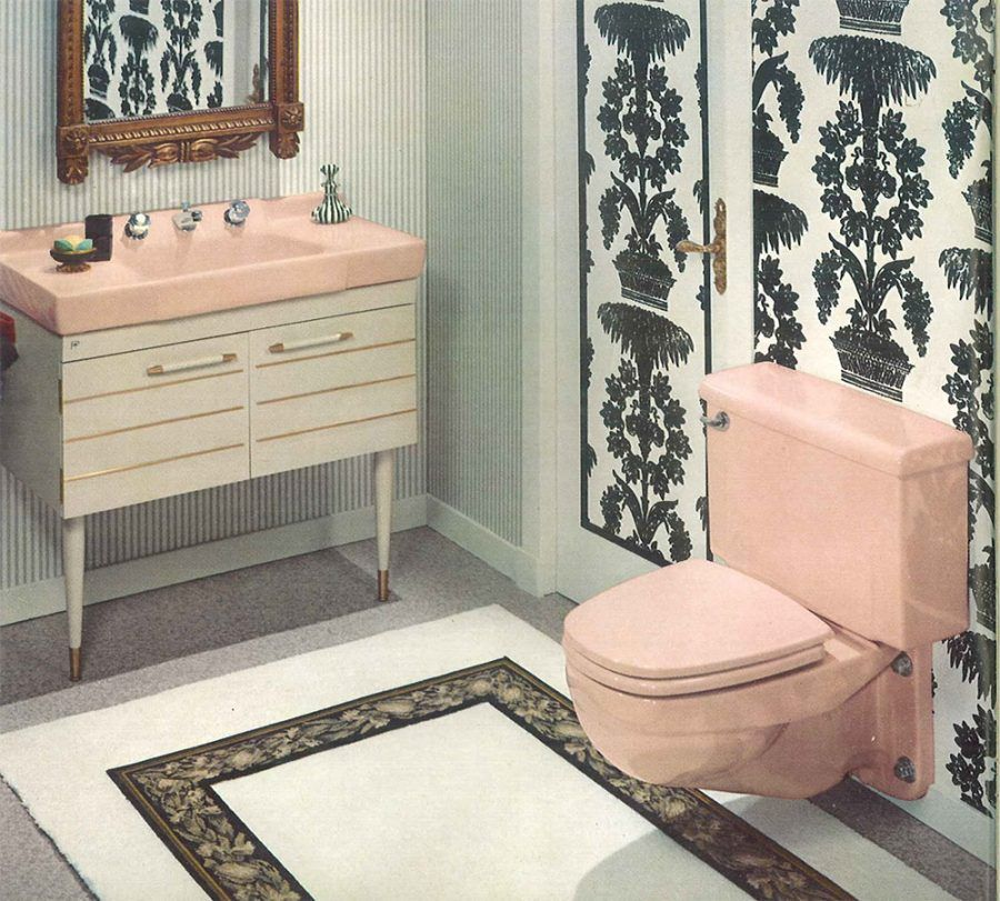 Bathroom Mesmerizing Modern Bathtub 86 Midcentury Pink Bathroom