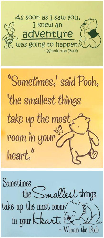 Winnie the Pooh Nursery Wall Decals   #cute #baby #room   Endless ...