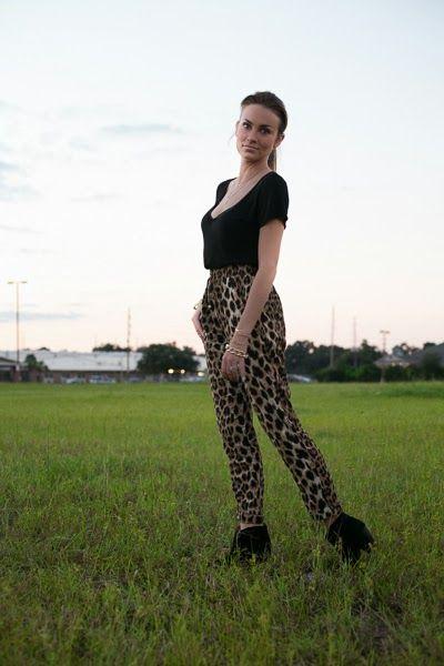 Leopard pants. #hellogorgeous