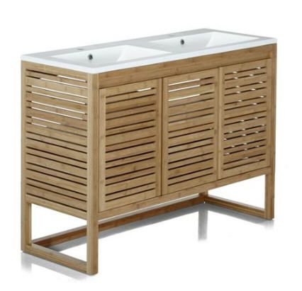 Meuble sous-vasque de salle de bain 120cm Danong prix promo Alinea ...