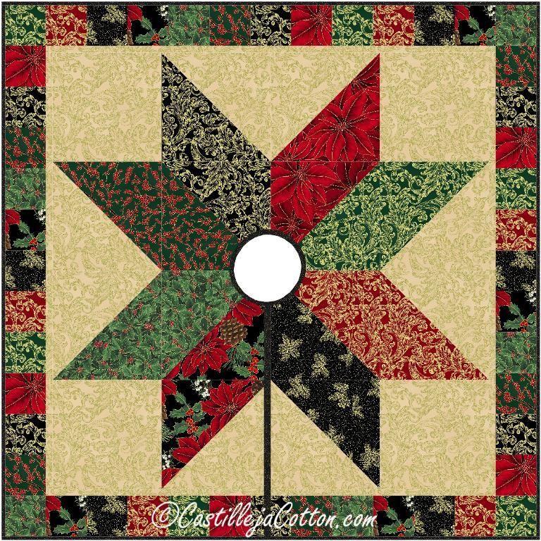 Starlight Tree Skirt Pattern 2416-18