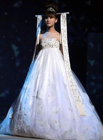Wedding dresses asian style
