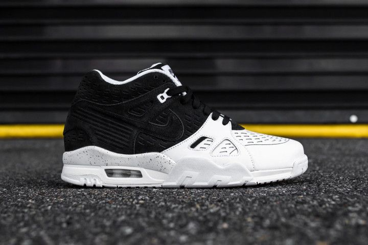 The classic Nike Air Trainer 3 is rendered in a timeless colorway of Black and White this season. Find it at Nike stores now for $130.