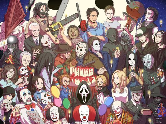 Who is your Slasher movie Lover? Part 2