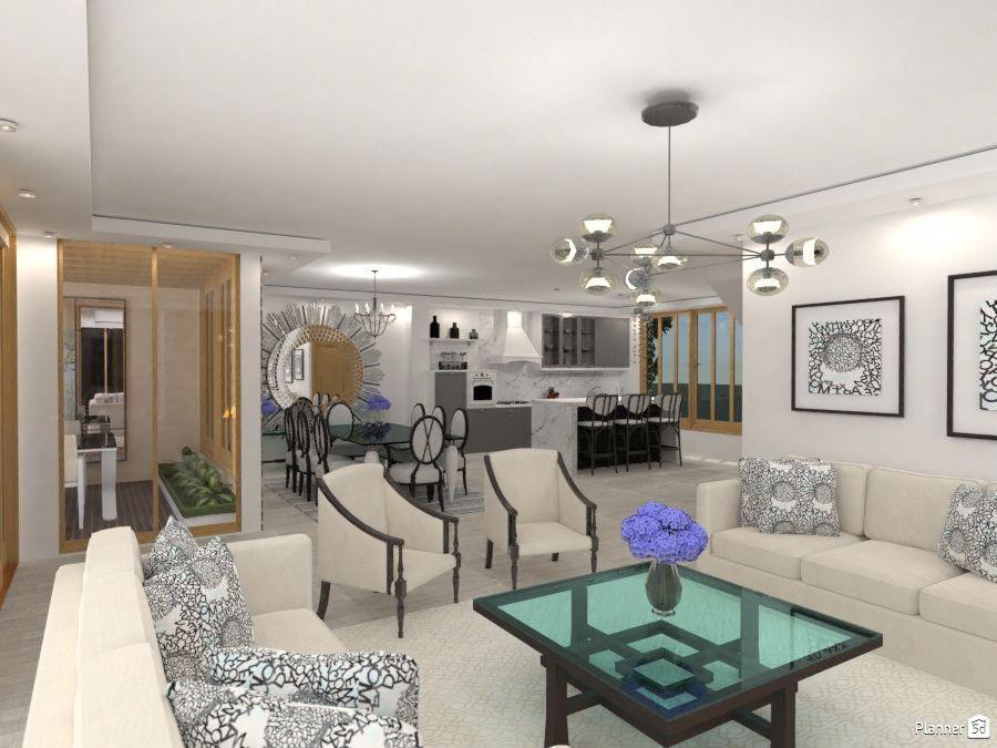 Living Room Interior, PLANNER 5D #interiordesignsoftware