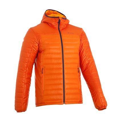 f9357e046b7f Quilted jackets - X-Light Men s Down Jacket - Orange QUECHUA ...