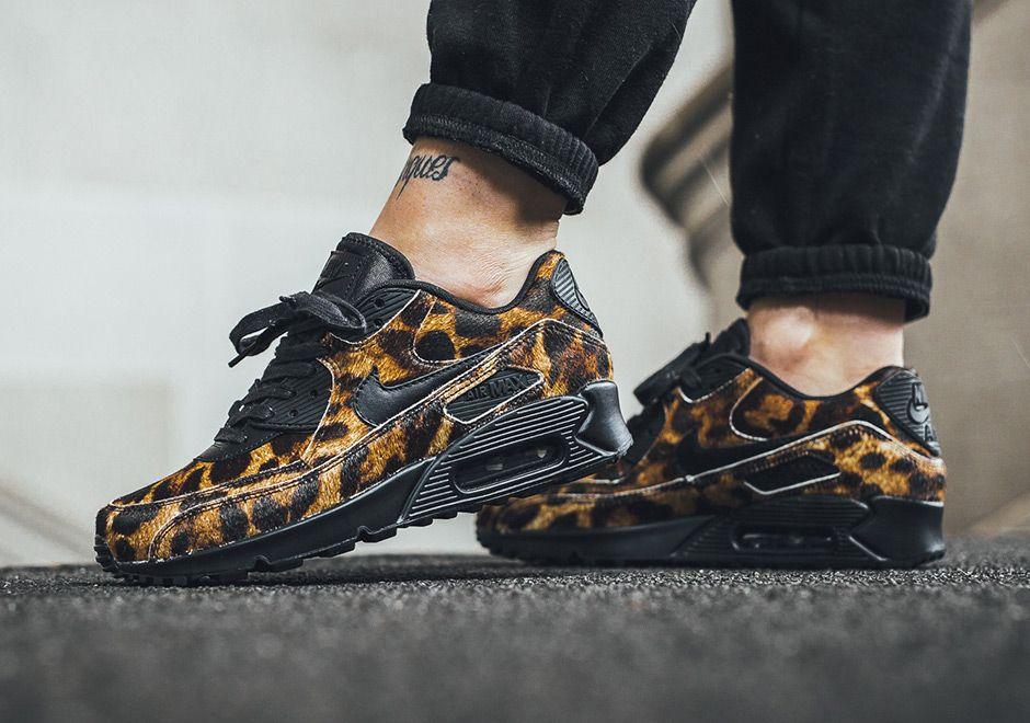 Nike Air Max 90 Cheetah 898512-002 | SneakerNews.com | Nike air ...