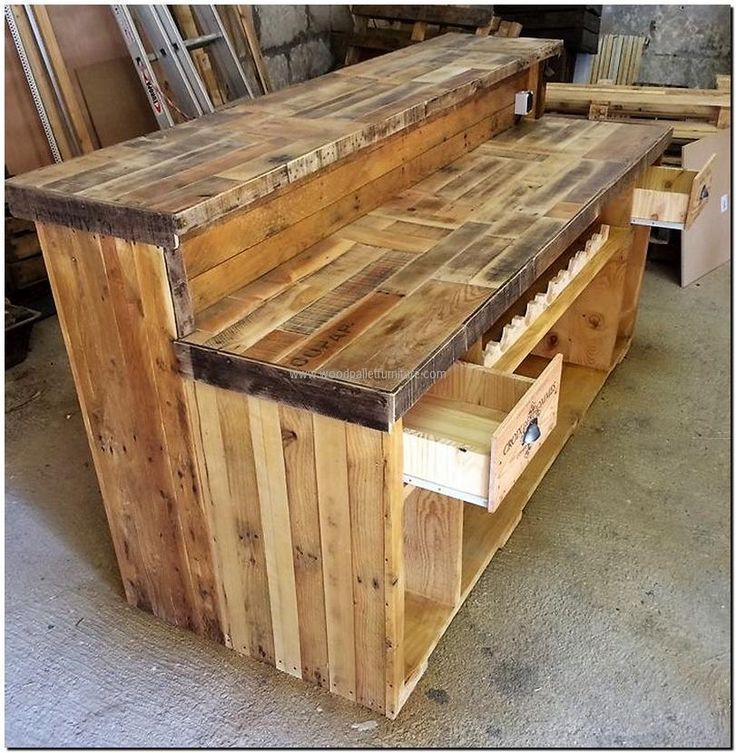Gorgeous Low Cost Pallet Bar DIY Ideas For Your Home! Plans DIY Outdoor  Counter Ideas Stools How To Build A How To Make A Instructions Easy Wood Cau2026