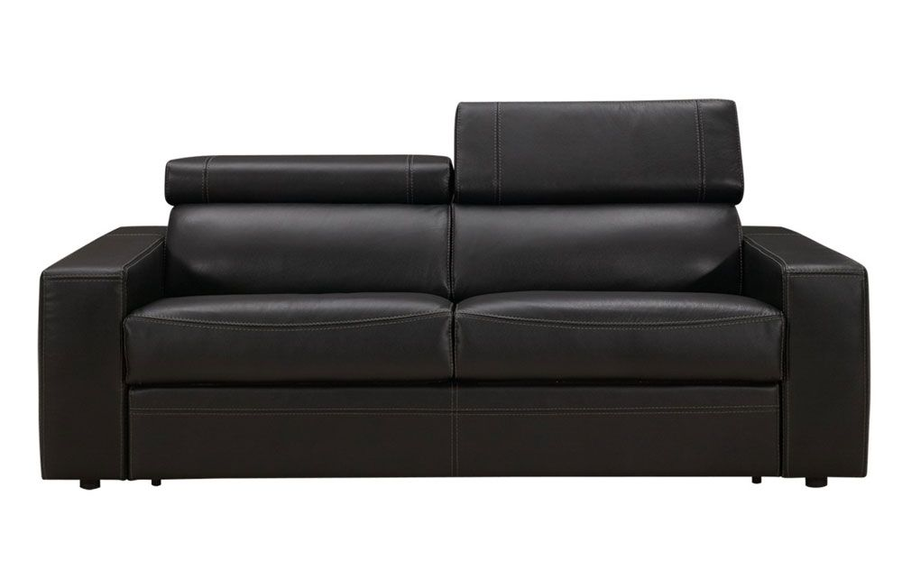 Maya Leather Sofa Bed with Memory Foam Mattress Maya Leather Sofa