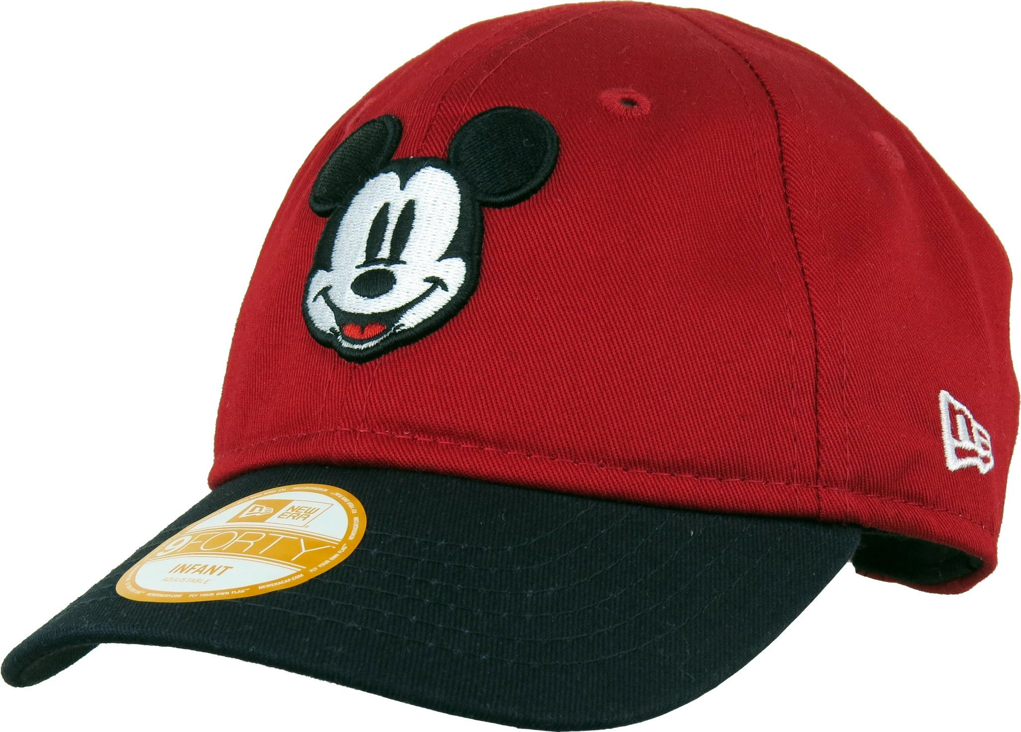 5c229c26d0d Mickey Mouse New Era 940 My 1st Stretch Fit Infants Red Cap (0-2 years) -  pumpheadgear